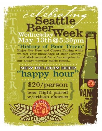 Celebrating Seathe Beer