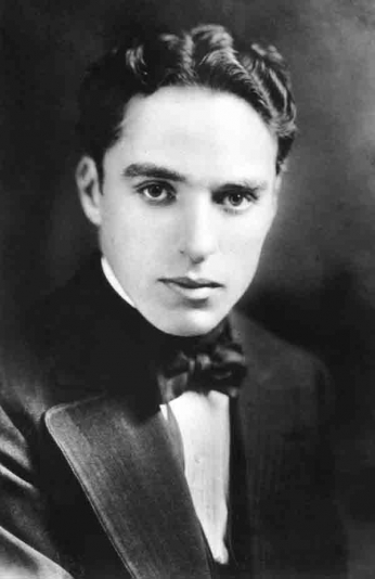 Charles Chaplin - Portrait Young