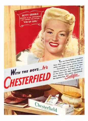 Chesterfield - Betty Grable