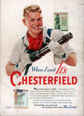 Chesterfield -  I Work It's (1942)