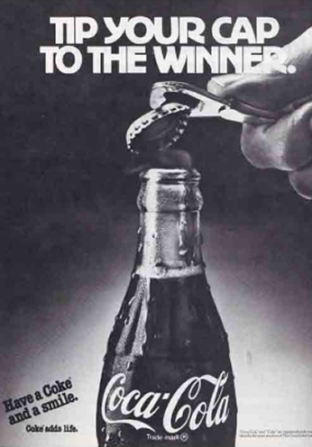 Coca Cola - Tip Your Cap To The Winner