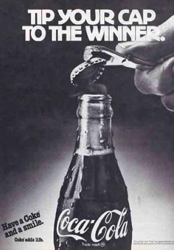 Coca Cola - Tip Your Cap To The Winner