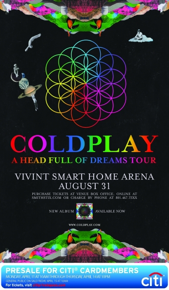 Coldplay Head Full of Dreams Tour.
