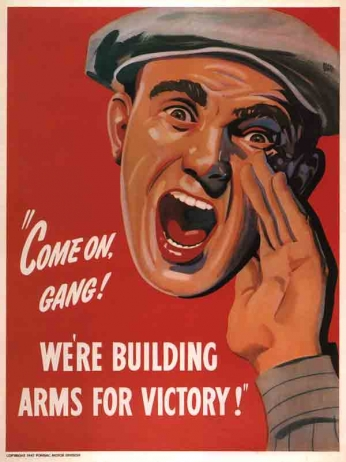 Come on Gang - We're Building Arms for Victory! (1942)