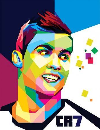 Cristiano Ronaldo - Colors