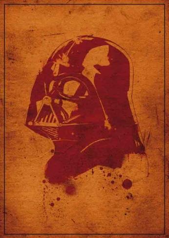 Darth Vader - Vintage Portrait