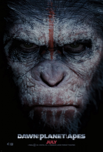 Dawn of the Planet of the Apes - Teaser Poster