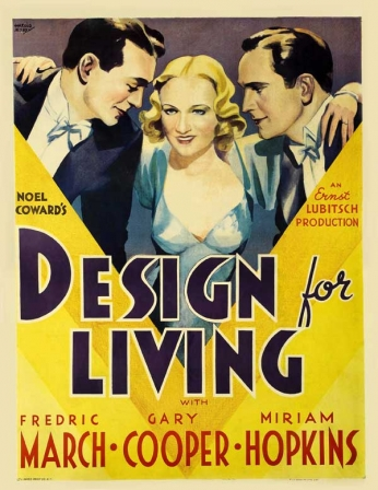 Filme: Design for Living (Sócios no Amor, 1933)