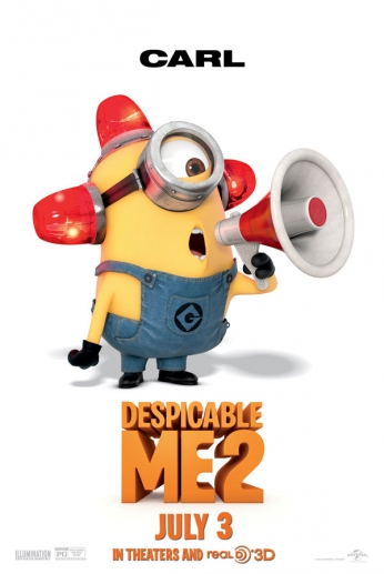 Despicable Me 2 - Carl - Teaser Poster