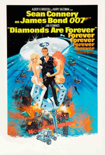 Filme: Diamonds Are Forever (007- Os Diamantes São Eternos, 1971).