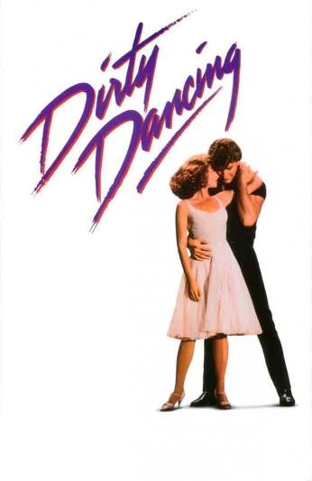 Filme: Dirty Dancing (Dirty Dancing - Ritmo Quente, 1987). Direção: Emile Ardolino. Elenco: Jennifer Grey, Patrick Swayze e Jerry Orbach.