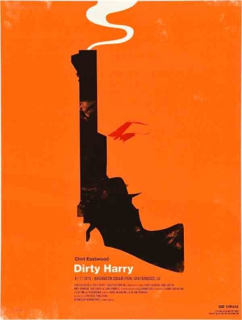 Dirty Harry - Alternative Poster
