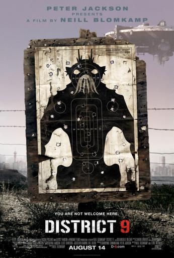 Filme: District 9 (Distrito 9, 2009) Direção: Neill Blomkamp Elenco: Sharlto Copley, David James, Jason Cope