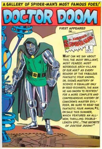 Doctor Doom - History
