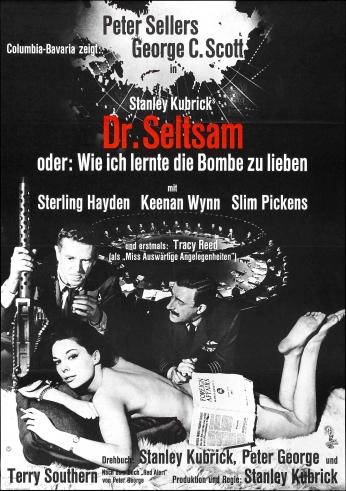 Dr Strangelove Stanley Kubrick Dr Seltsan
