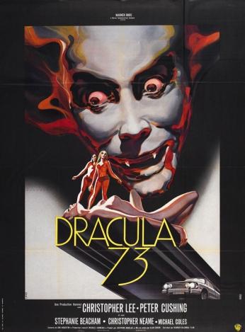 Filme: Dracula - 73 (Os Ritos Satânicos de Drácula, 1973) Direção: Alan Gibson Elenco: Christopher Lee, Peter Cushing, Michael Coles