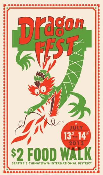 Poster Dragon Fest.