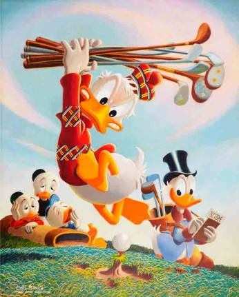 Duck Tales - Playing Golf by Carl Barks