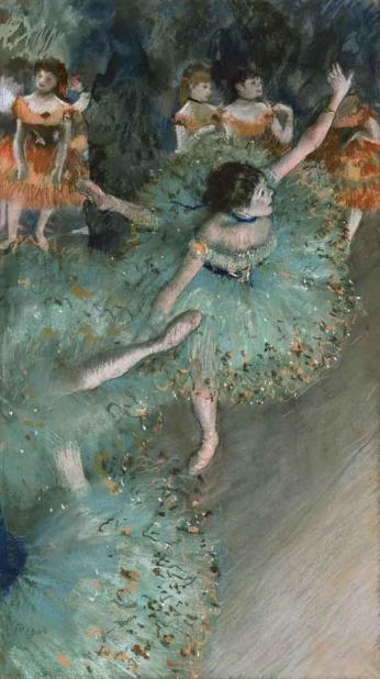Edgar Degas - Bailarina Verde - 1879