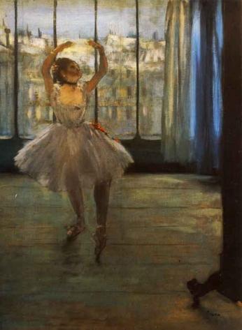 Edgar Degas - Dançarina Posando - 1878