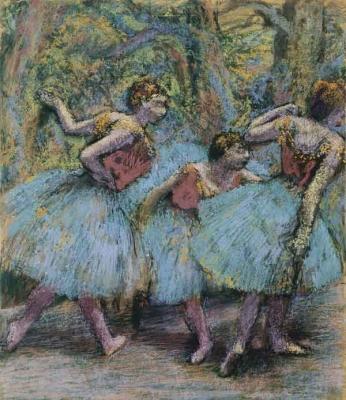 Edgar Degas - Três Dançarinas - 1903