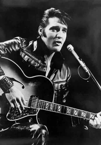 Elvis Presley - Black Leather - 1968