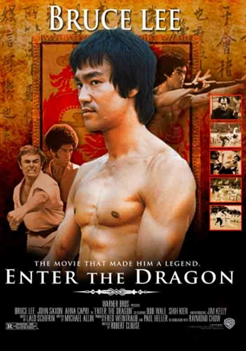 Filme: Enter the Dragon (Operação Dragão, 1973).
