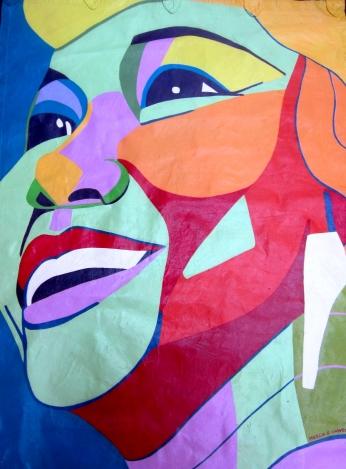 Etta James Miss Peaches Jazz Portraits Post Card.