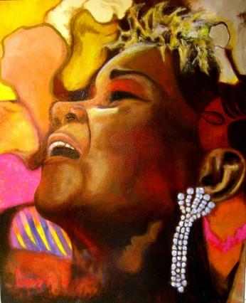 Etta James Miss Peaches Paint.