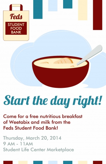 Feds Food Bank Breakfast Awareness