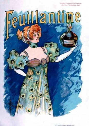 Feuillantine Liquor - 1896