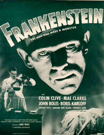 Frankenstein - The Man Who Made a Monster