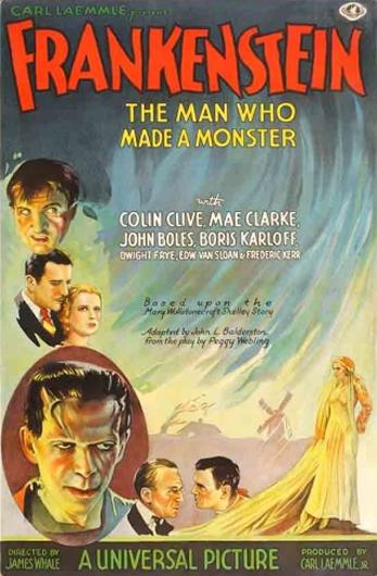 Frankenstein - The Man Who Made a Monster - Teaser Poster
