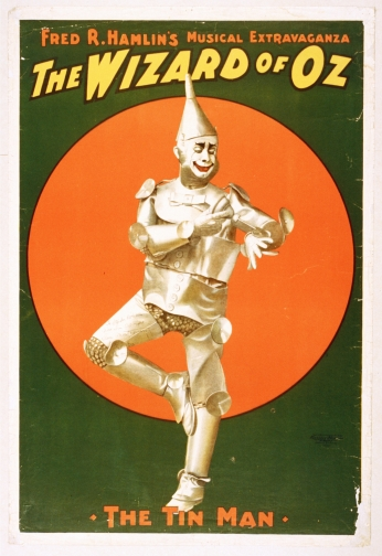 Poster Fred Hamlin The Wizard of Oz Poster Musical 1903 - O Mágico de Oz.