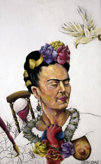 Frida Kahlo Homenaje.