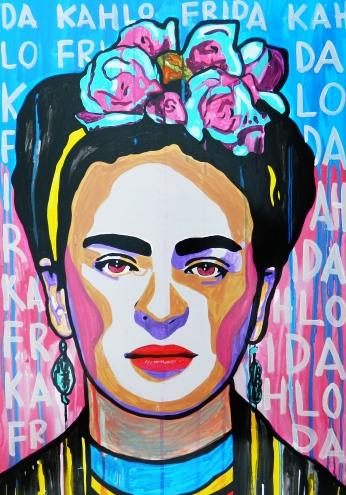 Frida Kahlo Paint Frida.