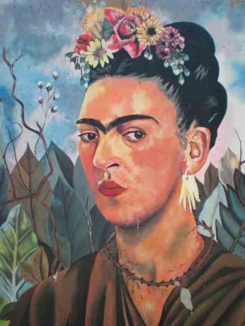 Frida Kahlo - Autorretrato Vintage - 1940