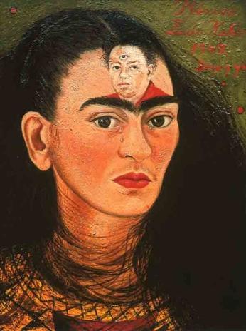 Frida Kahlo e Diego Rivera - Autorretrato - 1949