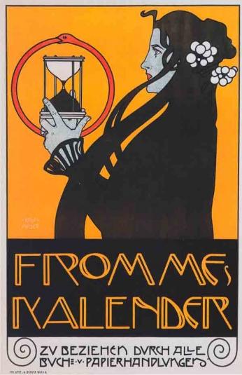 Kolo Moser Kalender - 1899
