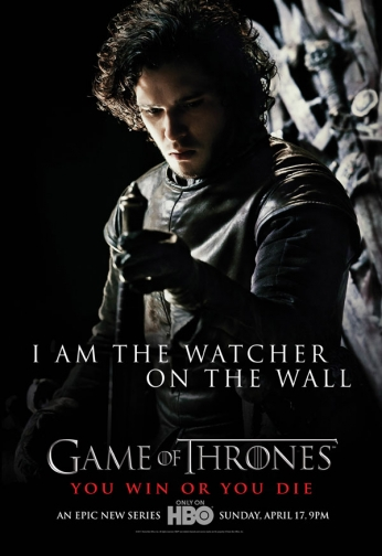 Game of Thrones - I Am the Watcher on the Wall