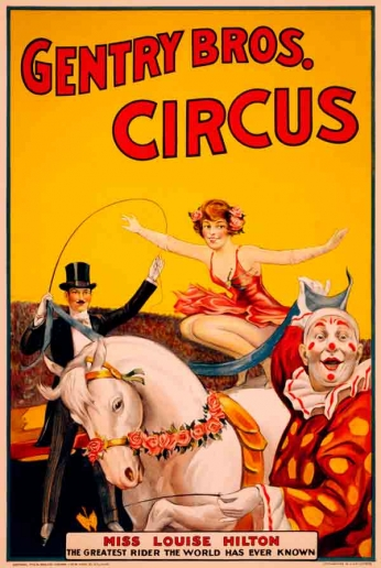 Gentry Bros. Circus - 1920