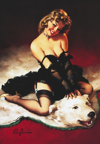 Bear Facts by Gil Elvgren