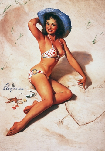 Just for You by Gil Elvgren