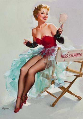 Miss Sylvania by Gil Elvgren
