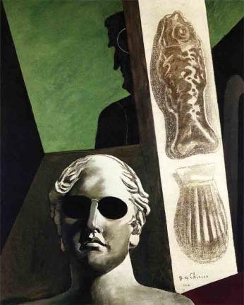 Obra do pintor do movimento metafísico de 1914.