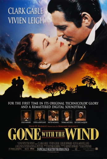 Poster Gone With The Wind Poster.