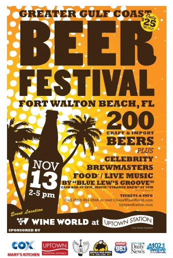 Poster Greater Gulf Coast Berr Festival.