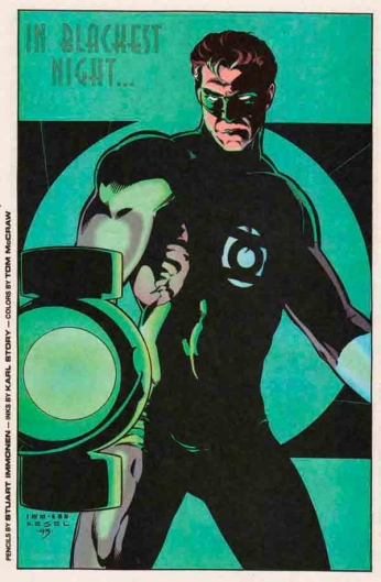 Green Lantern - In Blackest Night