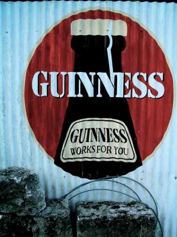 Guinness - Works For You - Graffiti