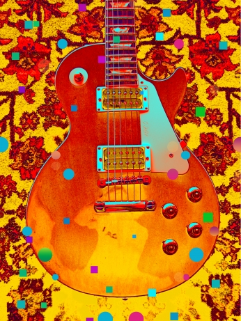 Guittar Barry Shereshevsky Art Poster